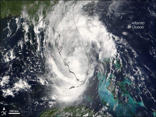Vem aí o Ernesto: ciclone tropical formado no Atlântico