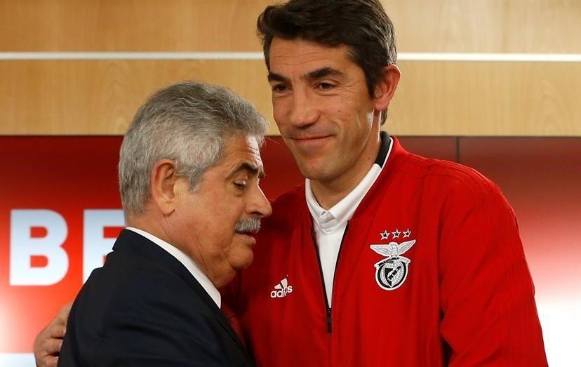 Luís Filipe Vieira garante um futuro com Bruno Lage