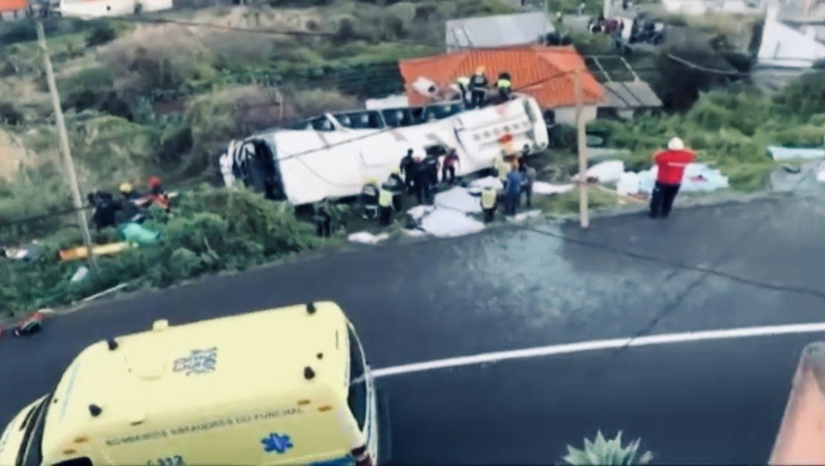 Subiu para 29 mortos resultado do acidente na Madeira