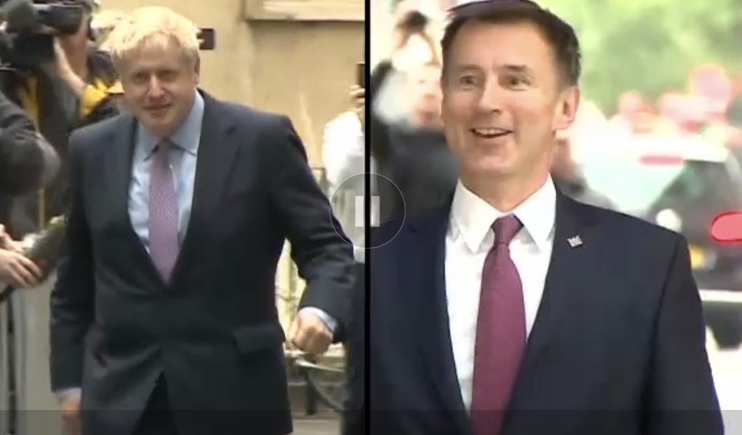 Conservadores vão escolher entre Johnson e Hunt