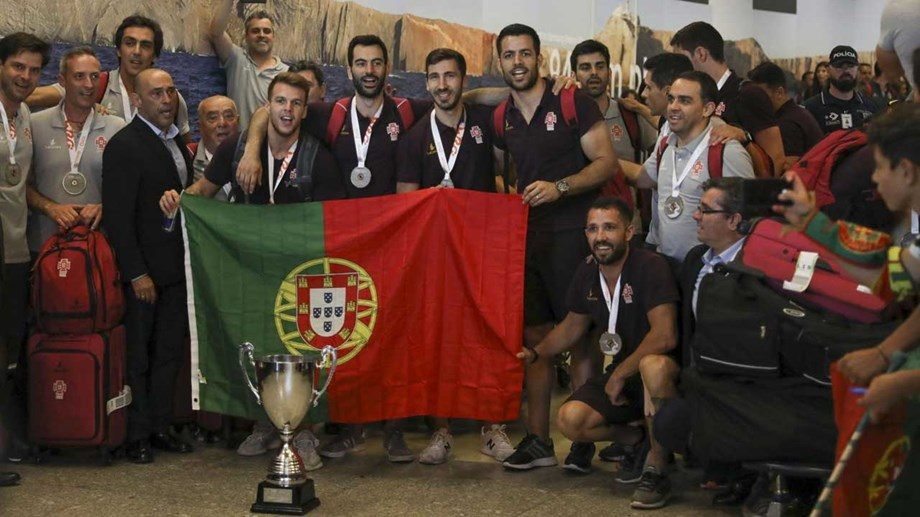 HÓQUEI EM PATINS:Campeões do Mundo recebidos em euforia