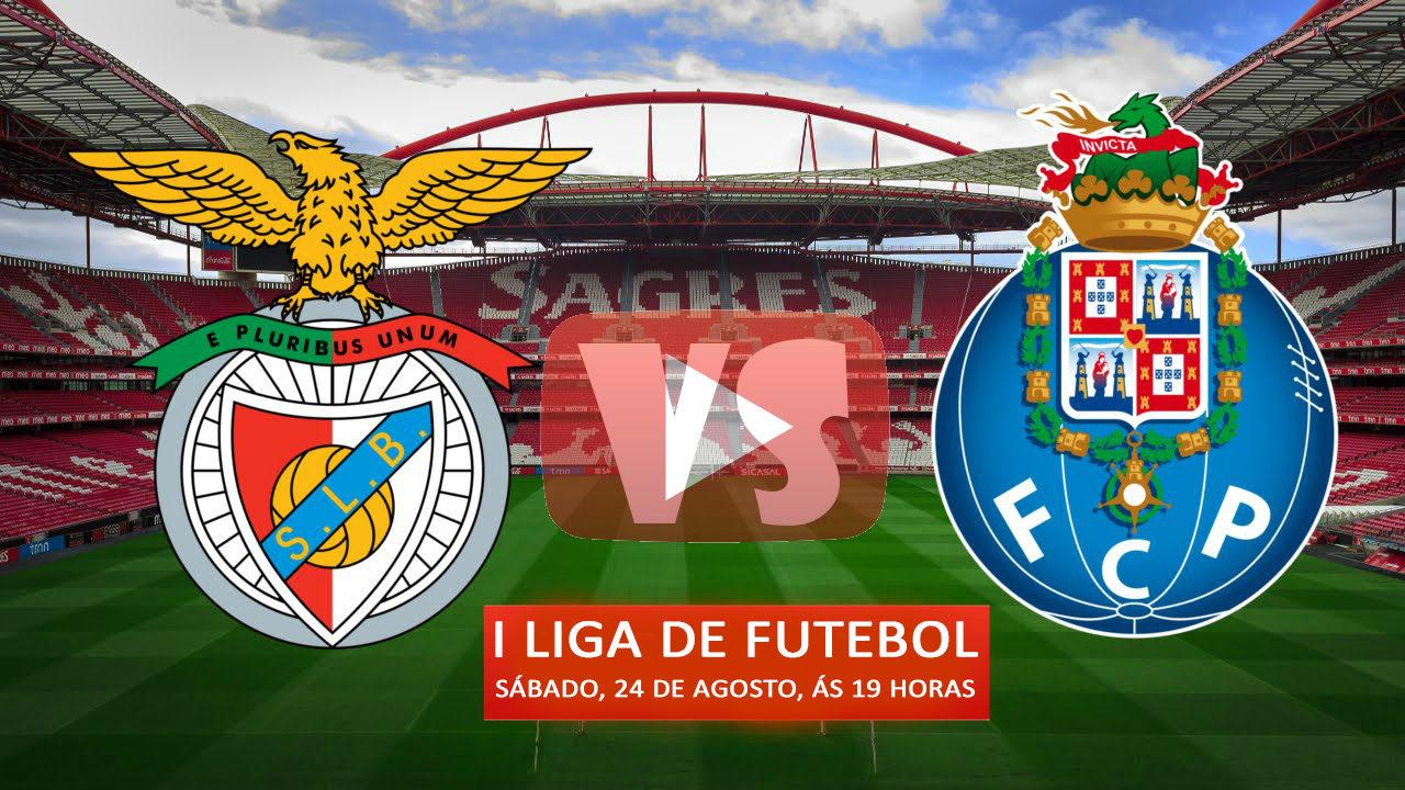 Benfica e FC Porto medem forças na terceira ronda da I Liga