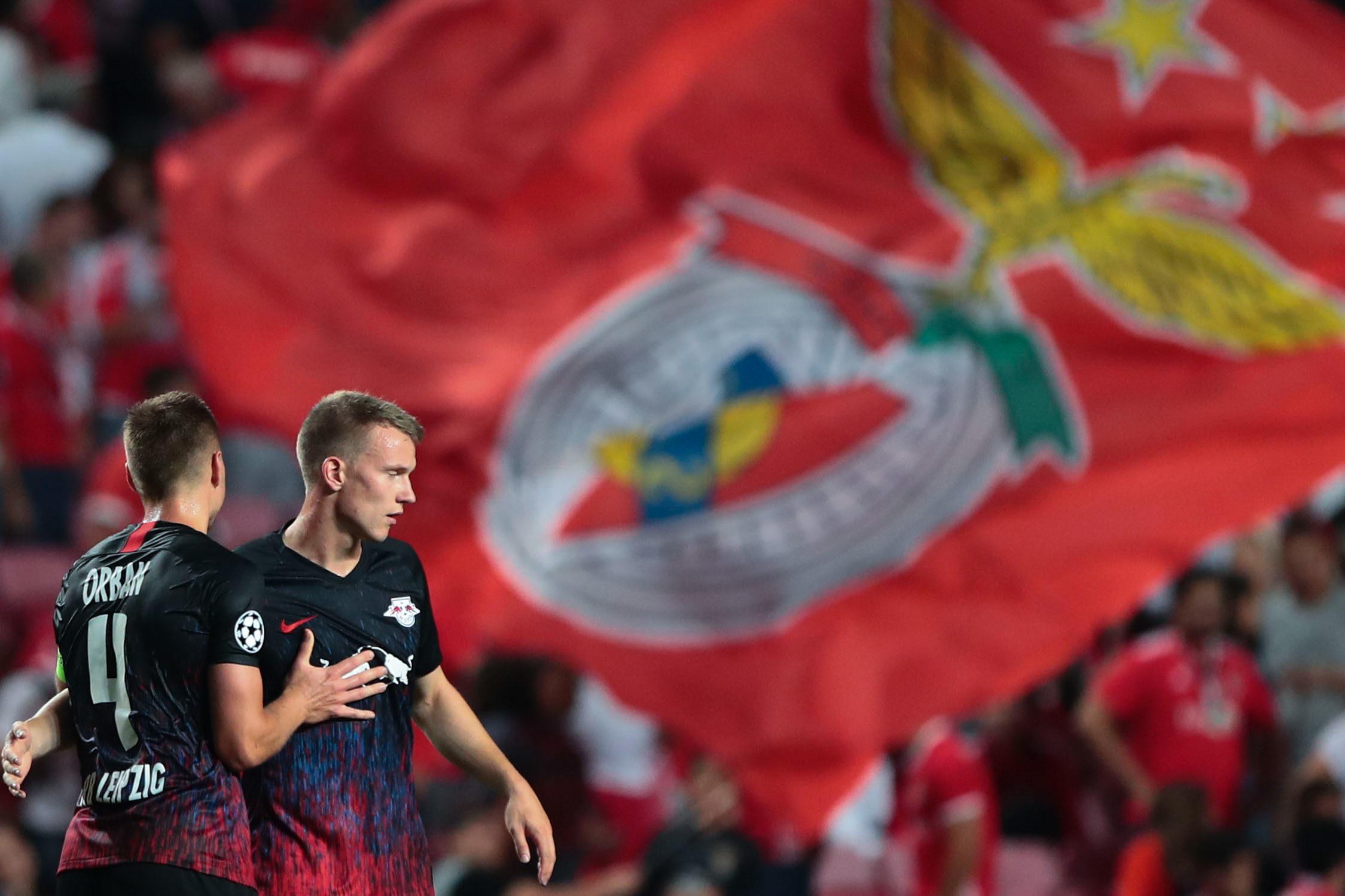 Liga Europa: Benfica perdulário e Leipzi eficaz ganha 2-1 (com declarações)
