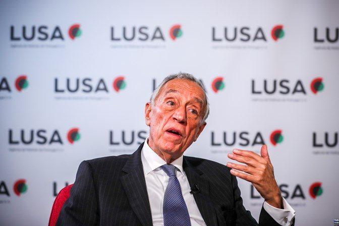 Não estou seguro se banqueiros e bancos aprenderam com a crise – diz Marcelo Rebelo de Sousa