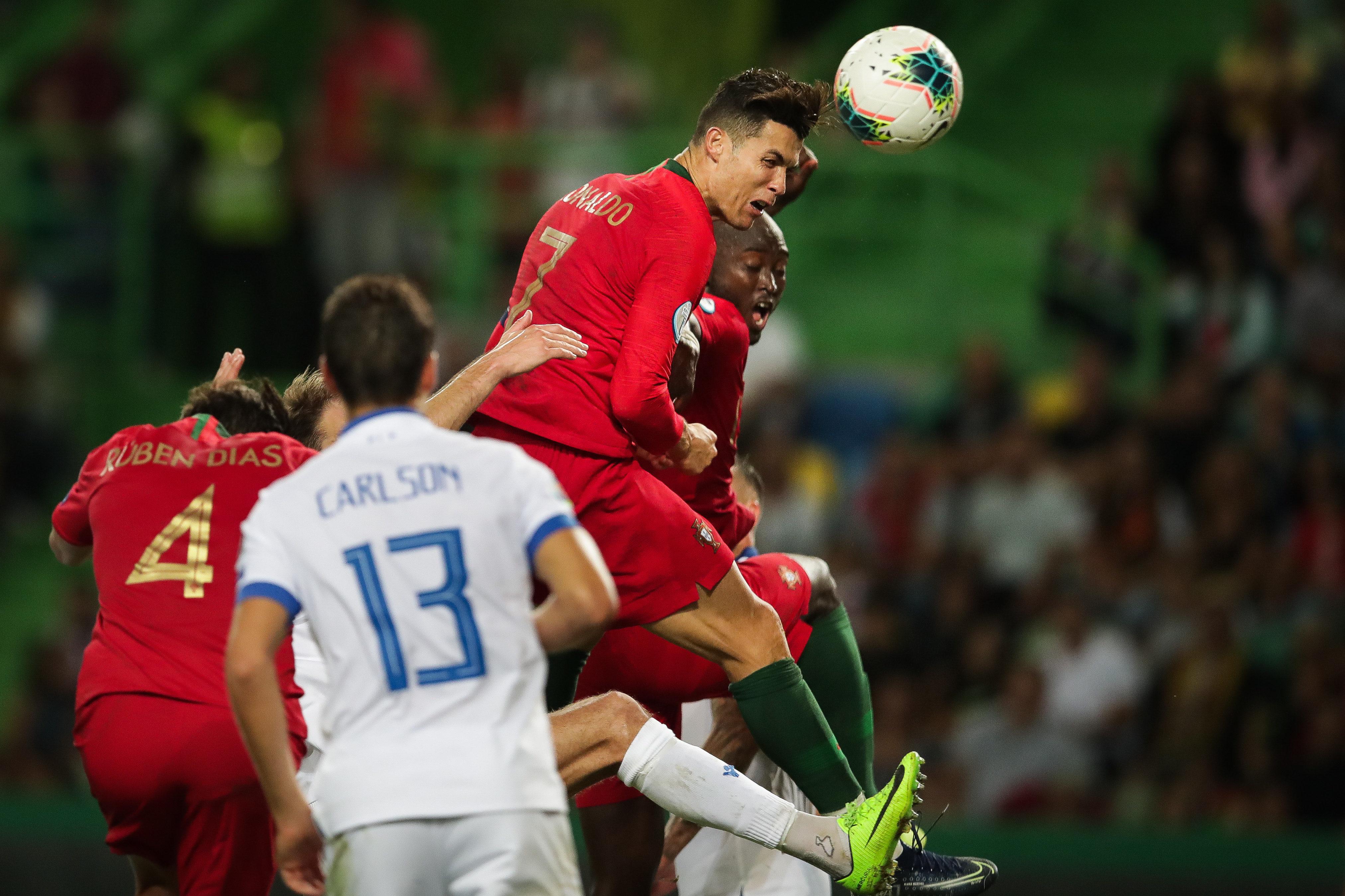 Euro2020: Portugal a meio gás chegou e bastou para o Luxemburgo