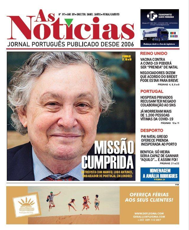 Edição 197 do jornal AS NOTÍCIAS