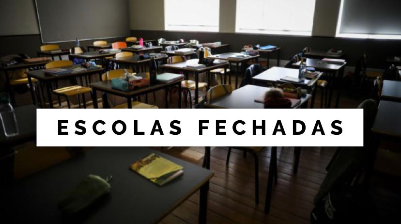 Portugal: Escolas e universidades encerram a partir de sexta-feira