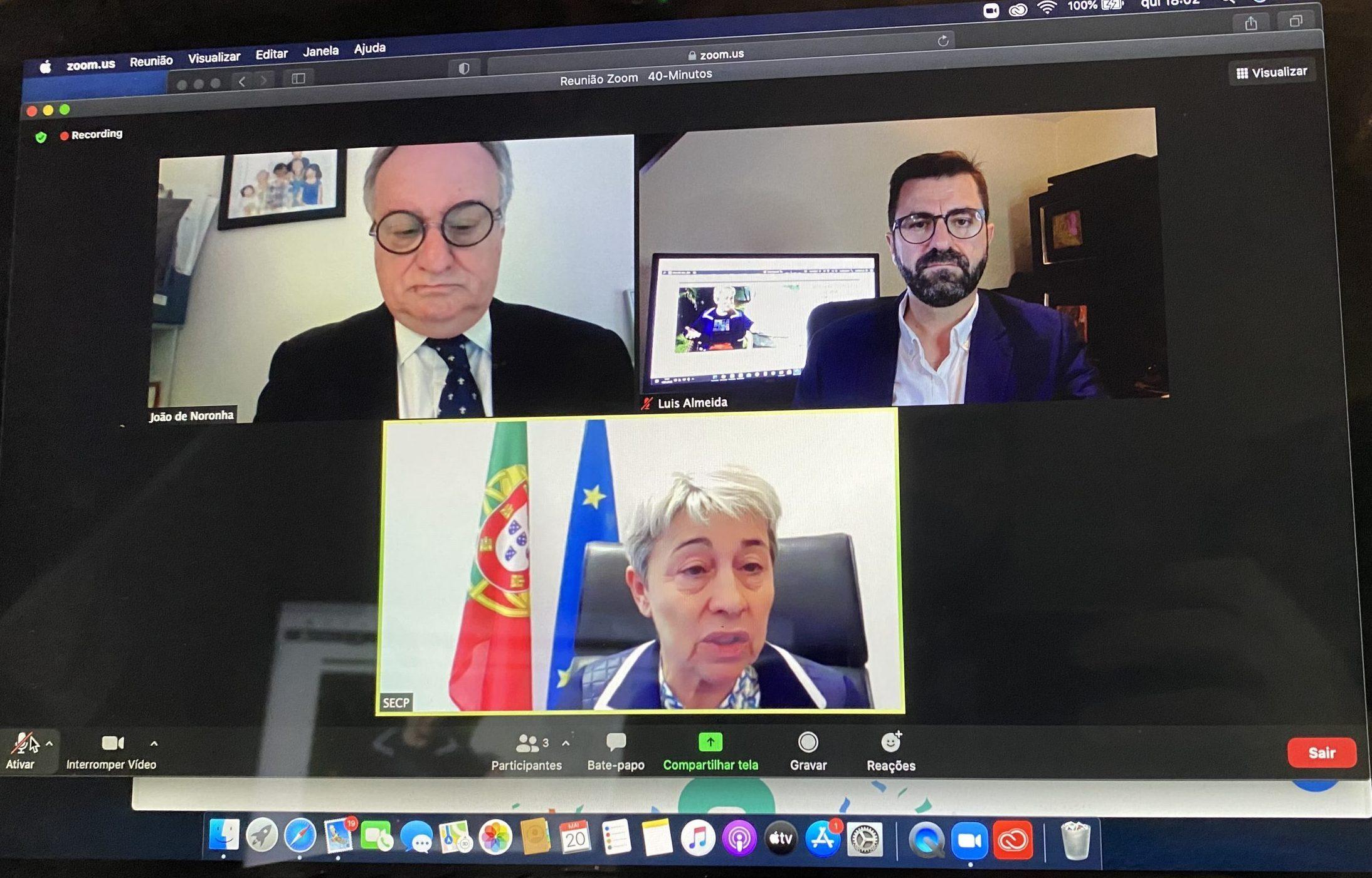 Entrevista com a Dra. Berta Nunes, a actual Secretaria de Estado das Comunidades Portuguesas.